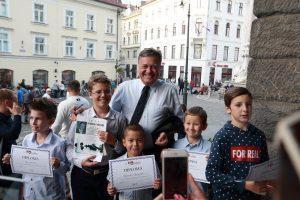 Vesela dRuščina z županom Ljubljane, Zoranom Jankovičem