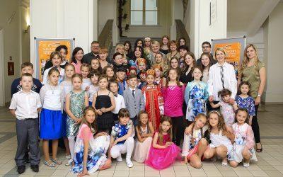 Festival Veseli veter združil otroke iz različnih držav