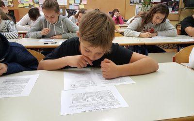 Več kot 80 učencev se je pomerilo v tekmovanju Ruski medvedek