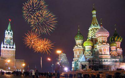 Praznovanje novega leta v Rusiji